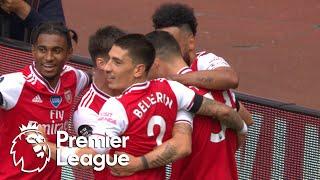 Granit Xhaka scores Arsenal's second goal against Norwich City   Premier League   NBC Sports