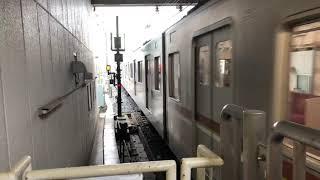 7000系10両発車(和光市駅)