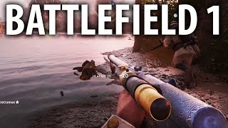BATTLEFIELD 1 - TOP 5 NEW WEAPONS!  Weapon Customization and Skins!