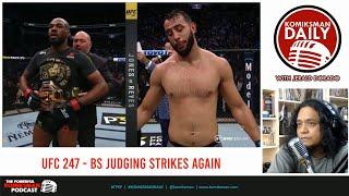 PROBLEMATIC MMA Judging System. UFC 247: Jones vs Reyes | Komiksman Daily
