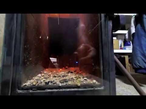 DIY #2- Rocket pellet stove update, overhead hopper and combustion ..