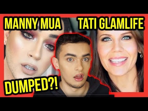 MANNY MUA & TATI CUT OFF & WIPED OUT!! ANASTASIA BEVERLY HILLS EYE SHADOW PALETTE!!
