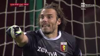 Calcio: Coppa Italia 2018/19 Quarto Turno: Genoa   Virtus Entella  (calci di rigore 9 -10)