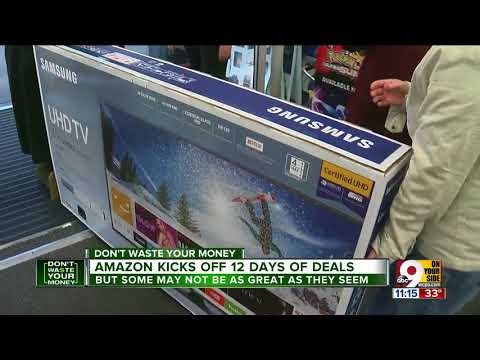 Amazon kicks off 12 days of deals