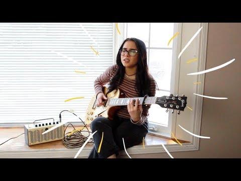 DUA LIPA IDGAF (electric guitar cover by annie green) *with lyrics/chords in description