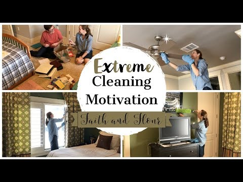 Extreme Cleaning Motivation   Clean With Me   Zone Cleaning