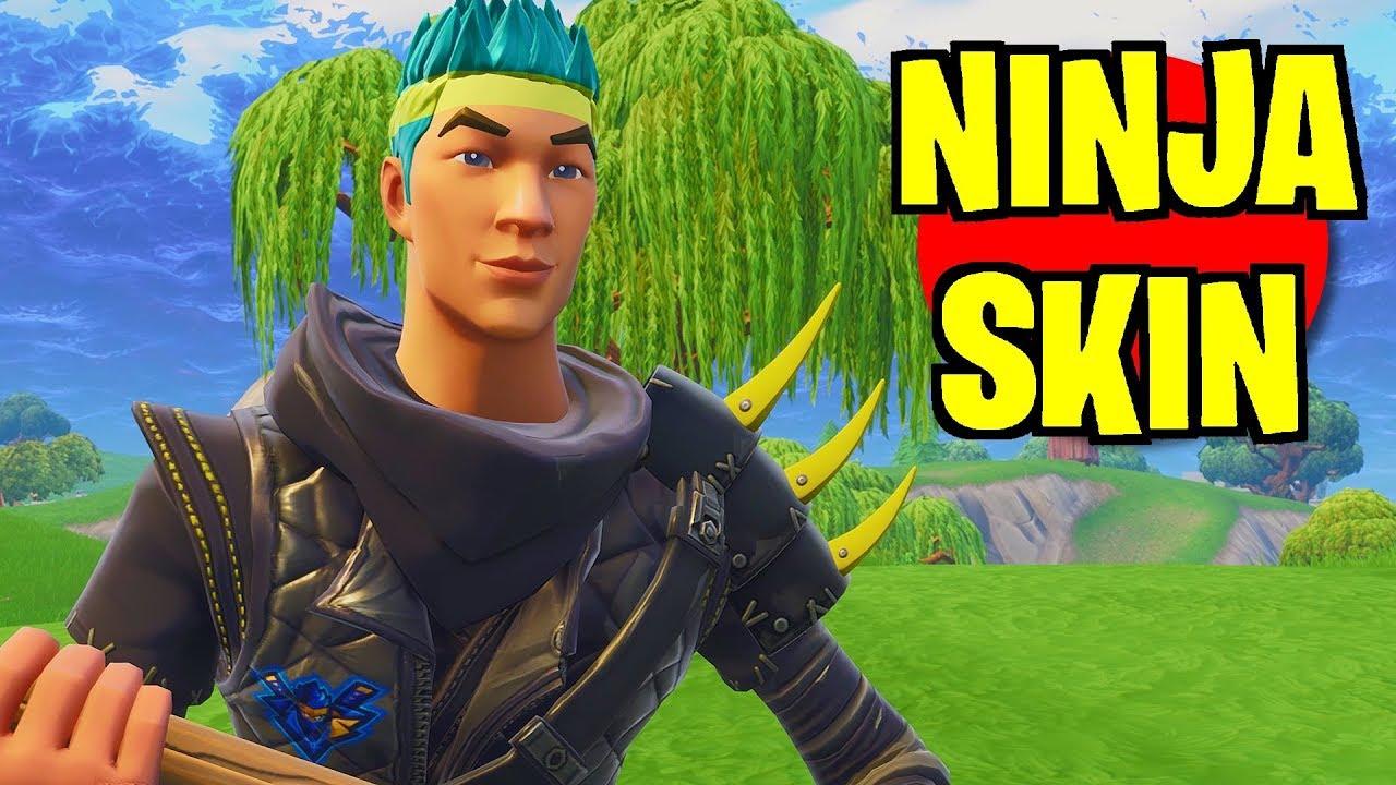 HACKER GIVES ME NINJA SKIN IN FORTNITE! (Ninja's Skin ...