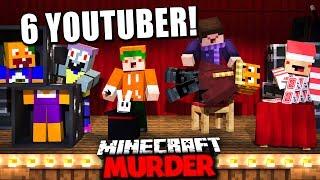 MINECRAFT MURDER MIT 6 YOUTUBERN