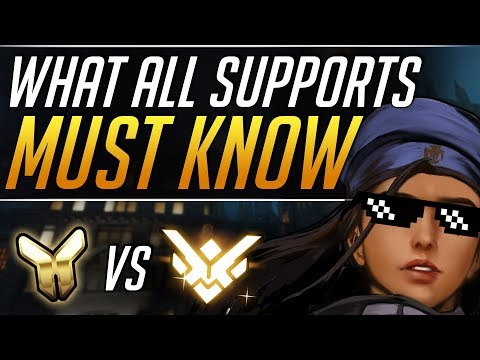 What GRANDMASTER Supports do that YOU DON'T | Overwatch Gameplay Guide thumbnail