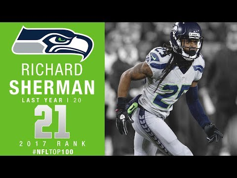 #21: Richard Sherman (CB, Seahawks) | Top 100 Players of 2017 | NFL
