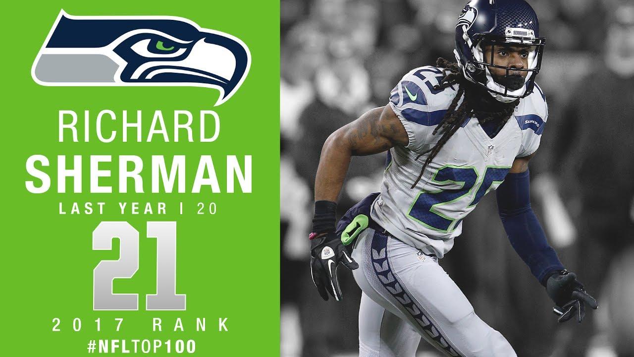 4783755aa2e 21: Richard Sherman (CB, Seahawks) | Top 100 Players of 2017 | NFL ...