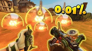 He Landed TWO Impossible 0.01% Bombs!? - Overwatch Funny Moments & Best Plays 26
