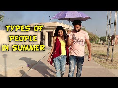 TYPES OF PEOPLE IN SUMMER  Baklol Video 