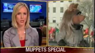 Sarah Caldwell talks with Miss Piggy