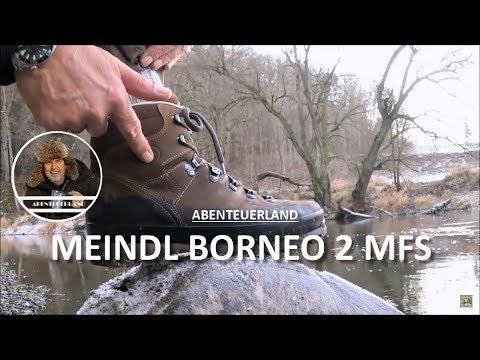 dauerhafte Modellierung für die ganze Familie auf Füßen Bilder von MEINDL BORNEO 2 MFS - bergfester Siebenmeilenstiefel 👍👍👍👣🆒