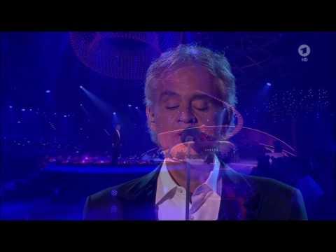 Andrea Bocelli - Nelle Tue Mani (Now We Are Free) Live