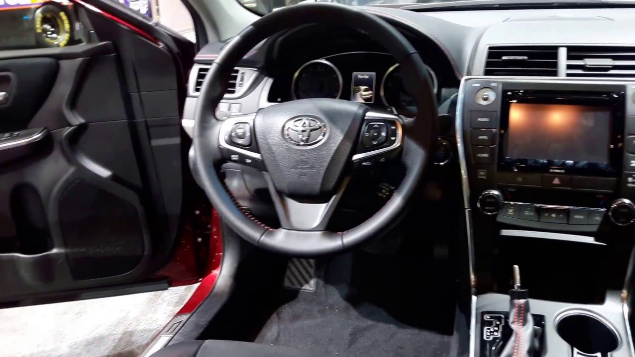 2016 Toyota Camry Xse Interior Walkaround Price Site Cars