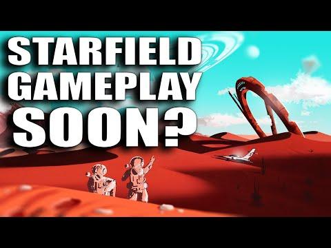 New Bethesda Starfield GAMEPLAY TRAILER Coming Soon?