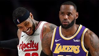 Los Angeles Lakers vs Portland Trail Blazers Full Game Highlights | Dec 6, 2019-20 NBA Season