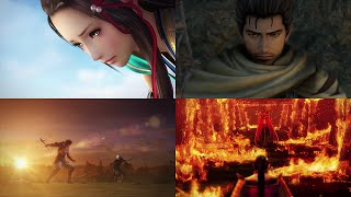 Samurai Warriors 4 All Cutscenes With English Subtitles In Story Mode (Events & Movies)