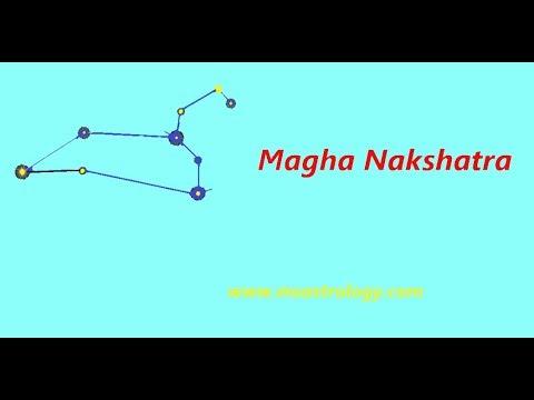 మఘ నక్షత్రం (Magha Nakshatra) Characteristics. MS Astrology - Vedic Astrology In Telugu Series.