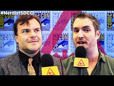 JACK BLACK Gives Us GOOSEBUMPS at Comic-Con - Nerdist @ SDCC