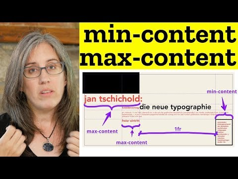 Min & Max Content Sizing In CSS Grid — 1/3 Flexibility
