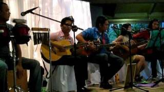 CIPHRA acoustic band :  you decorated my life @ OASIS manila