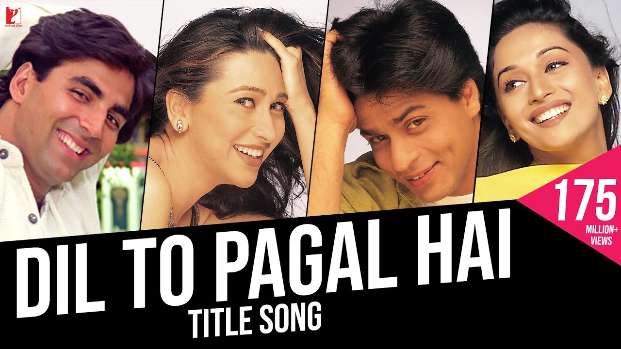 Dil To Pagal Hai Full Song Shah Rukh Khan Madhuri