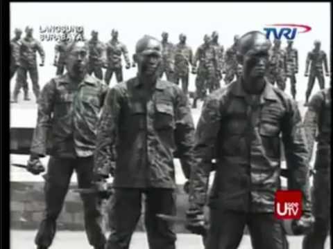 Seni Beladiri Militer HUT TNI Ke 69 Tahun 2014