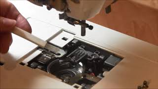 Cleaning your Brother Innovis Sewing & Embroidery Machine