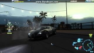 NFS World-Getting to 5000 Points and Obtaining Bugatti Veyron + Test Drives