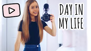 Day in the Life of a Full Time YouTuber!