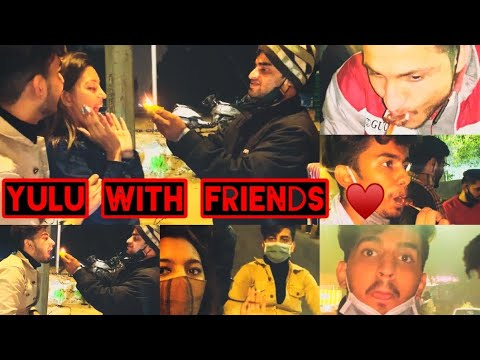 Download Yulu Ride With Friends | Fire Pan | Ride Without Helmet | Night Out | VM Vlogs