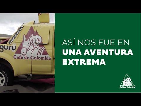 Equipo Café de Colombia a su regreso del Rally París - Dakar