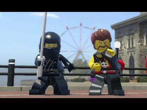 LEGO City Undercover - Kings Court 100% Guide (All Collectibles)