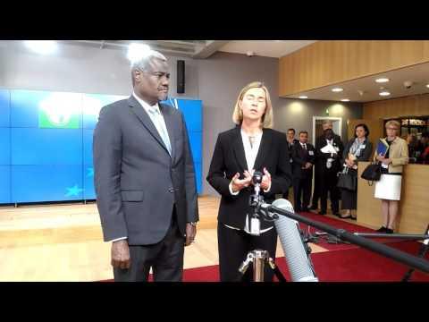Moussa Faki Mahamat African Union.