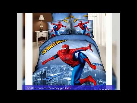 Themed Bedroom Super Hero And Spiderman Bedrooms For
