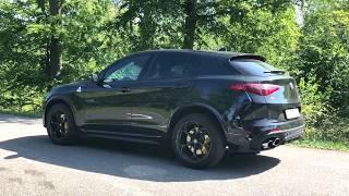 2018 Alfa Romeo Stelvio Quadrifoglio 507hk video review 0-100
