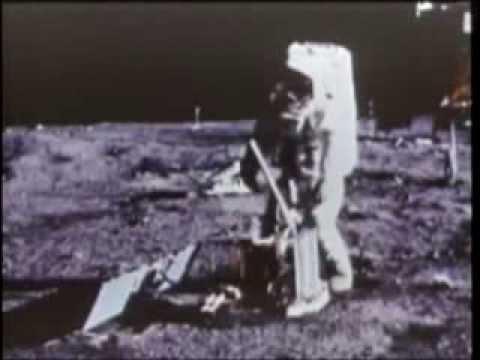 Official NASA footage of the Apollo 11 moon landing ...