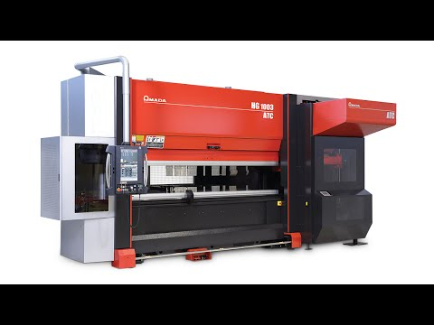 HG ATC Press Brake with Automatic Tool Changer