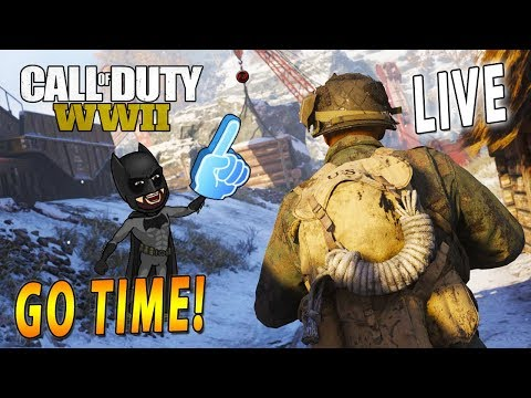 Chill Gaming Session W/ Subs LIVE Call of Duty: WW2 PS4 LIVE With FRANK SPARAPANI