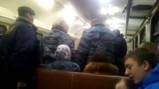 Беспредел в электричке Москва-Крутое