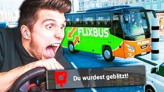 Fernbus FAHRER belästigt seine Gäste und rammt Blitzer ✪ (Flixbus) Fernbus Simulator