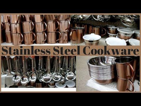 Dollar Tree Walk-Thru #55 - Stainless Steel (Like) Cookware & More!