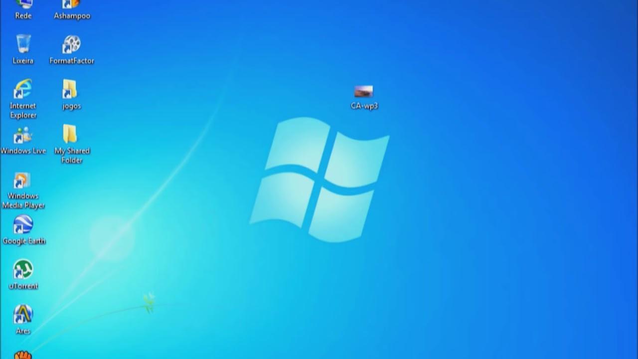 Como Colocar Papel De Parede No Windows 7 Starter E Home