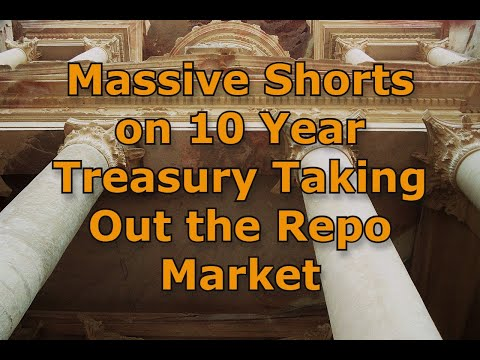 Massive Shorts on 10 Year Treasury Taking Out the Repo Market
