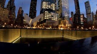 ⁴ᴷ⁶⁰ Walking NYC : National September 11 Memorial & Museum and