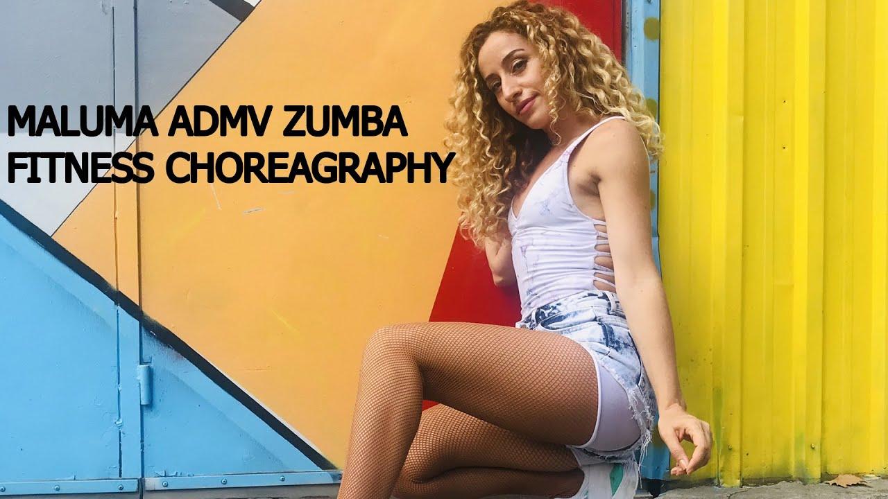 MALUMA ADMV - ZUMBA FITNESS -CHOREOGRAPHY by Hulya Yilmaz