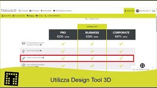 Utilizza il Design Tool di Tilelook